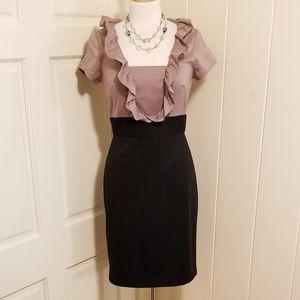 Flattering Suzi Chin Midi Dress
